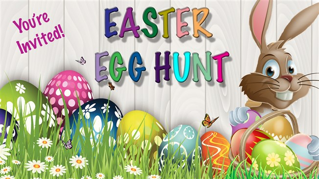 Community Easter Egg Hunt Date Change